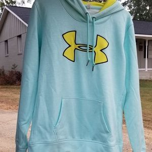 UnderArmour Womens Small baby blue & yellow